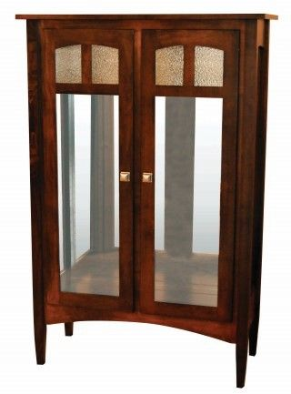 Amish Wc Curio Tapered Mission Curio   Google Search. Amish Furniture
