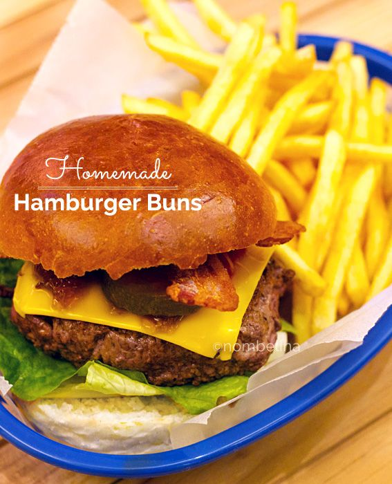Make your own hamburger buns!