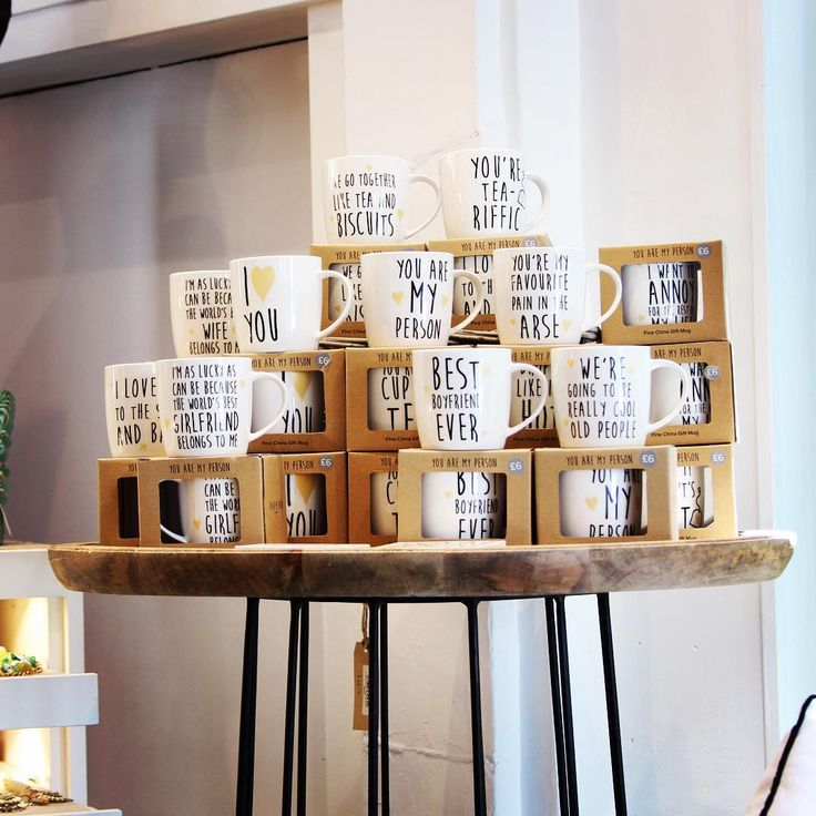 Fantastic quoted mugs from Chickidee, part of our launch range. #homeware #youaremyperson #kitchen