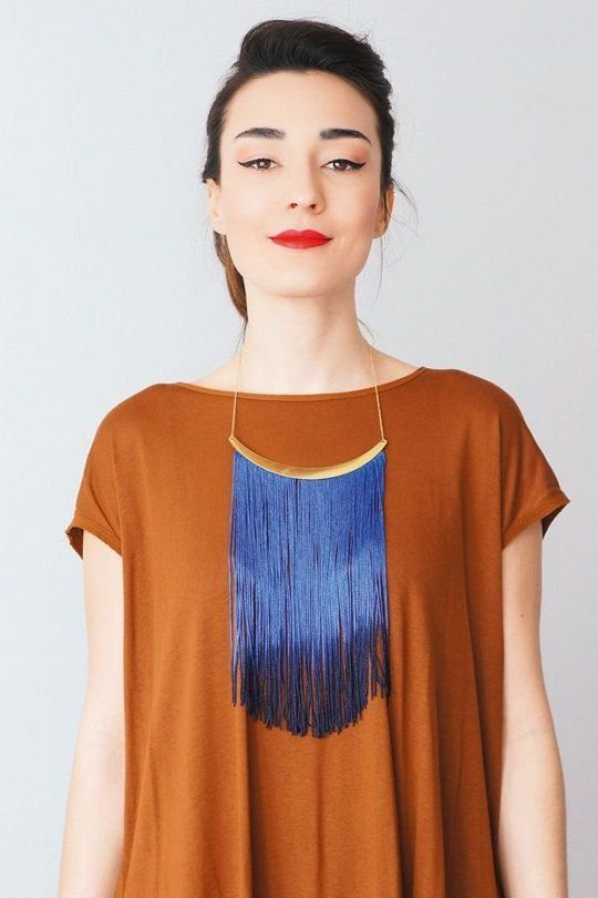 9 Statement Necklaces You Can Easily Make Yourself (Apartment Therapy Main)