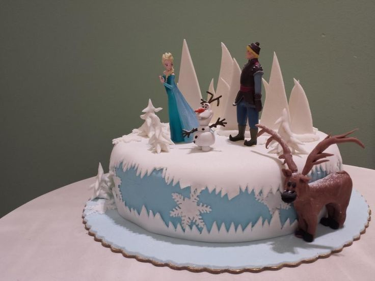 frozen birthday cake - Cake by Christina Papadopoulou