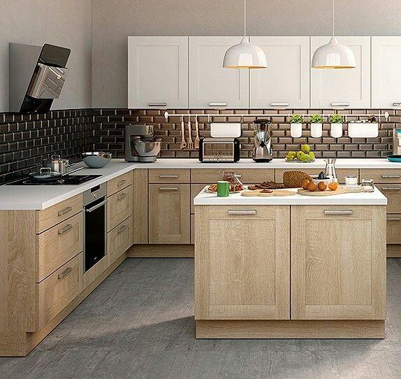 Les 40 meilleures images propos de cuisine sur pinterest for Modele de cuisine blanc et noir