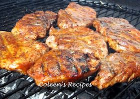 Coleen's Recipes: DRY RUB FOR GILLING PORK
