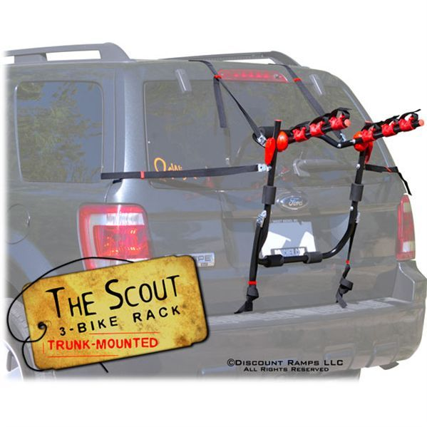 Scout Trunk Bike Rack - 3 Bike Capacity