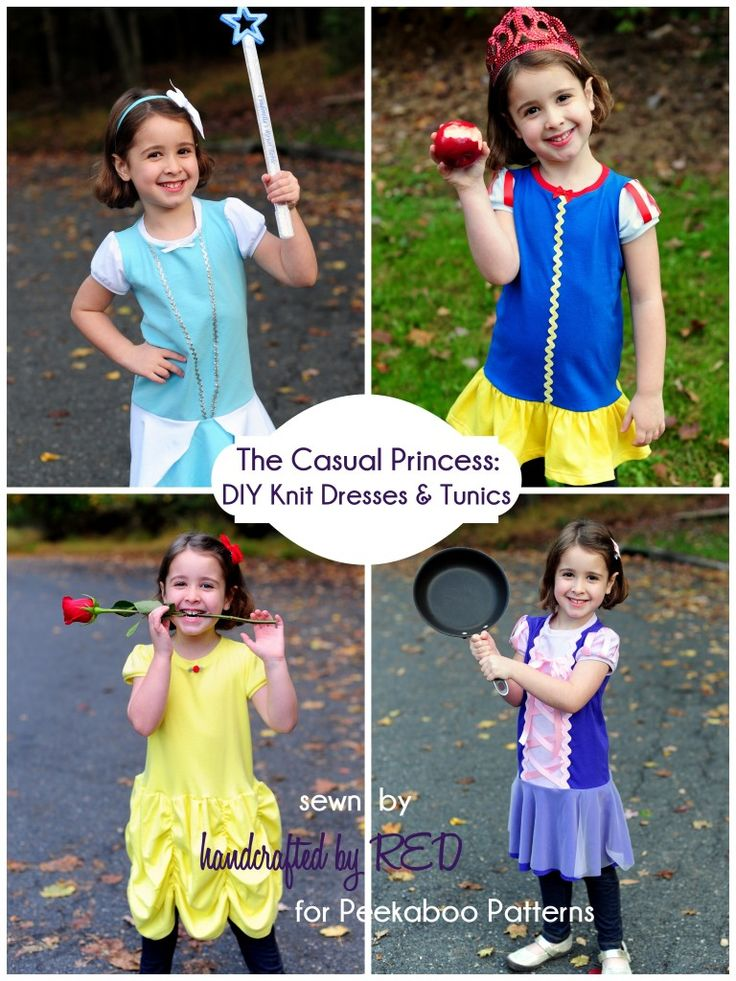 Last minute costume alert: Casual knit princess-inspired dresses and tunics