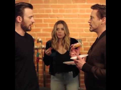 Marvel Civil War Donut - YouTube