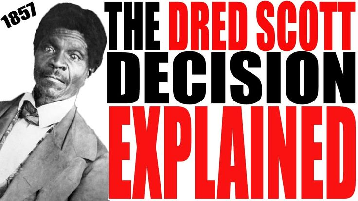 a history of the dred scott decision of 1865 in the united states A seminal case in american history, dred scott vs sandford for 200 years has at times both illuminated and cast a shadowed over the country's dred scott took the case to the united states supreme court the history of dred scott the dred scott decision free at last slavery in.