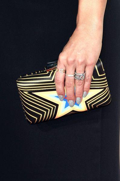 Miranda Lambert Photos Photos - Recording artist Miranda Lambert (purse detail) attends The 57th Annual GRAMMY Awards at the STAPLES Center on February 8, 2015 in Los Angeles, California. - 57th GRAMMY Awards - Arrivals