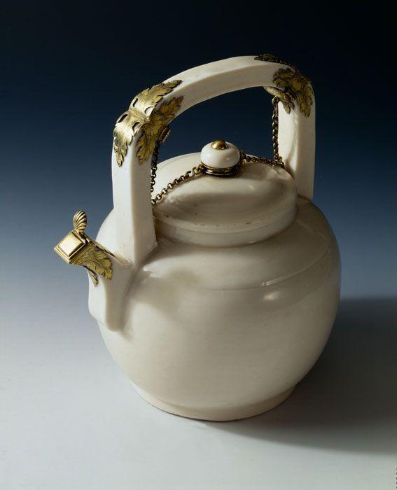 Teapot, 1680-1799, Mounts, late 17th century. Artist not identified