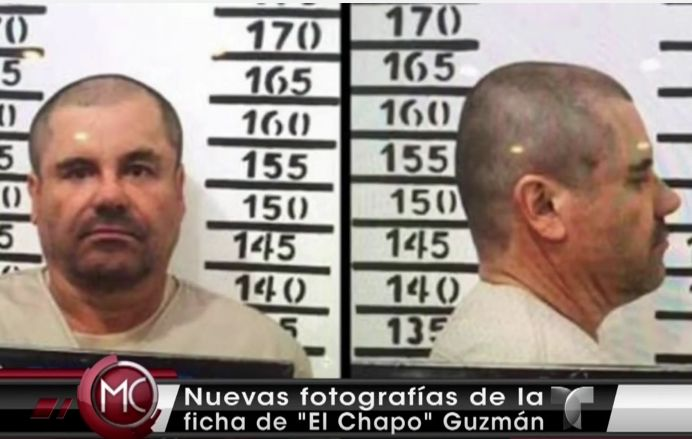 Revelan Fotos Del Chapo Guzmán Ya Fichado Por Autoridades #Video
