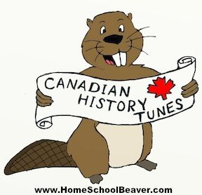 25 Fun, toe-tapping Songs for learning Canadian History! Great for kids to adults www.homeschoolbeaver.com or www.canadianhistorysongs.com