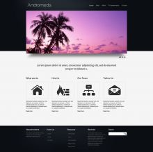 Andromeda Theme for Drupal 7