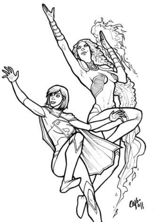 printable supergirl coloring picture online superheroes coloring pages pinterest pictures online - Supergirl Coloring Pages Kids