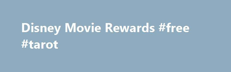 Disney Movie Rewards #free #tarot http://free.remmont.com/disney-movie-rewards-free-tarot/  #free movie online # Get Rewarded For The Movies You Love I'd like to receive updates, special offers, and other information via electronic messages and postal mail from Disney Movie Rewards and other members of The Walt Disney Family of Companies . You can withdraw your consent for these messages at any time. For more […]