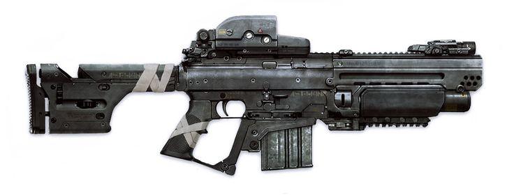 ArtStation - Weapon Design, Mikko Kautto
