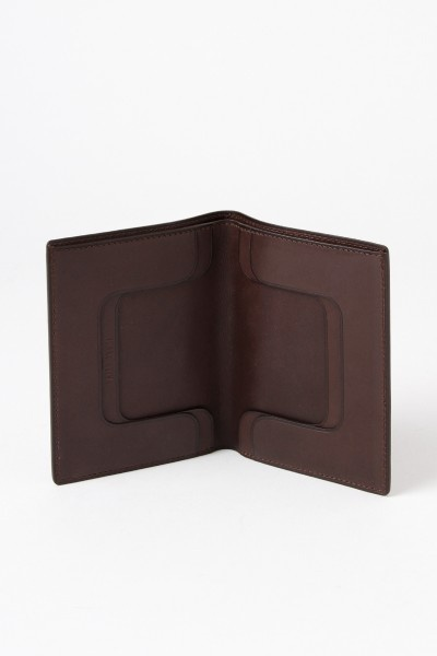 Isaac Reina Card Holder Brown