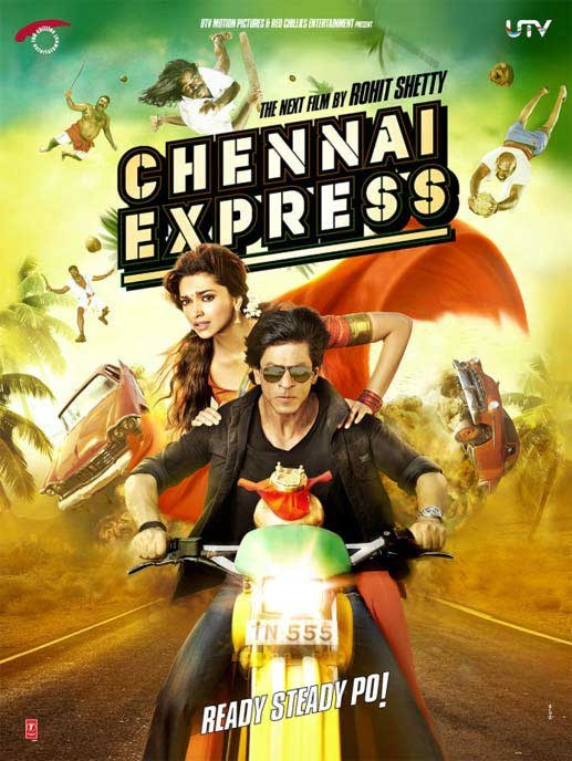 Chennai Express Official Poster 3