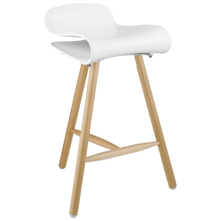 Elegant Off White Counter Stools