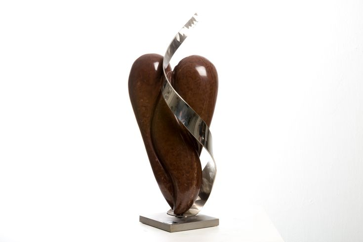Stone sculpture, heart freedom    #heart  #stone Sculpture