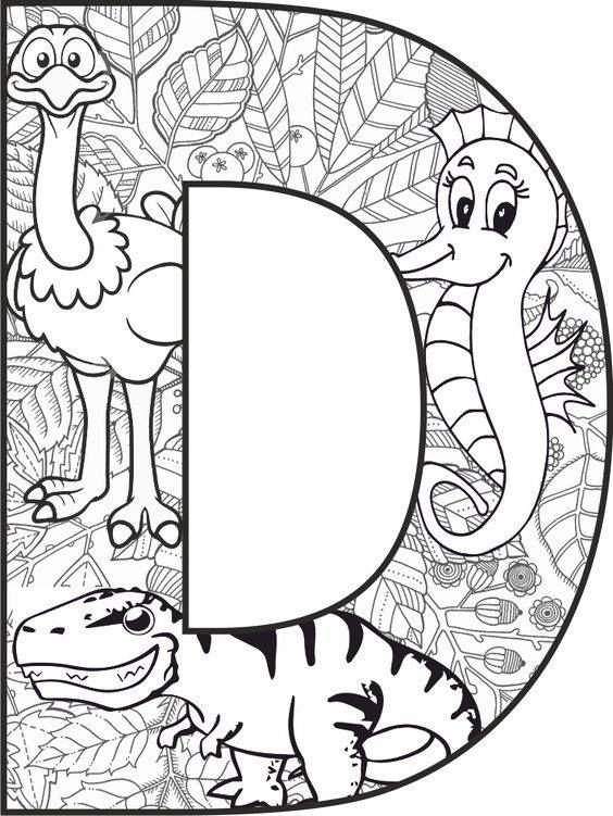 Pin By Hera Aquila On Przedszkole Abc Coloring Pages Coloring Letters Alphabet Coloring Pages