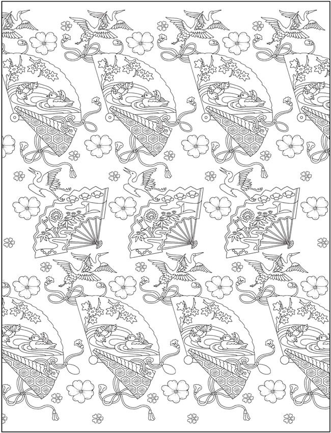 Japanese Coloring Books For Adults Designs Coloring Books Creative Haven Coloring Books Coloring Books