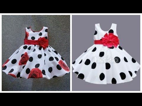 95bcecd726 3 Years Baby Umbrella Frock Cutting With Measurements (Hindi -urdu ...