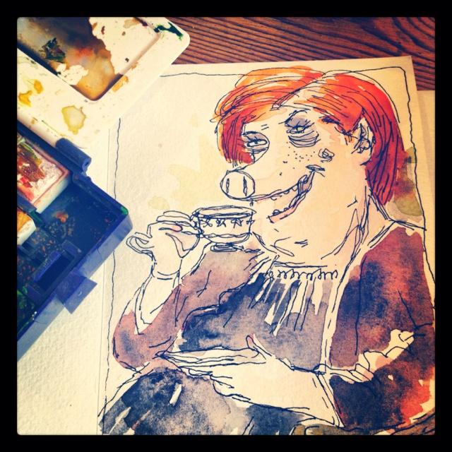 Tea miss piggy?