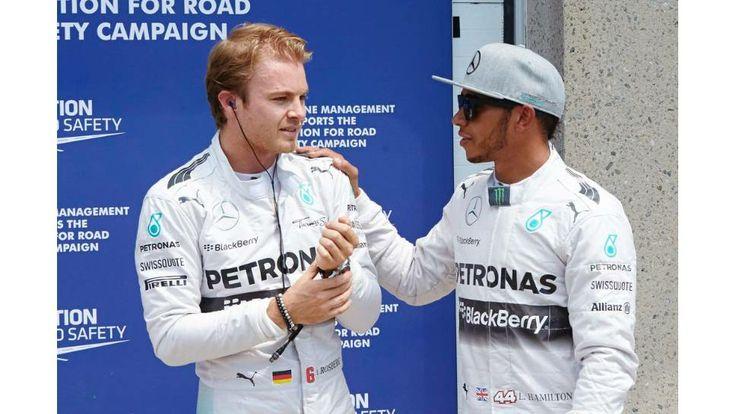 #F1 #Formula1 #Forma1 #Nico #Rosberg #Lewis #Hamilton #Canada #2014
