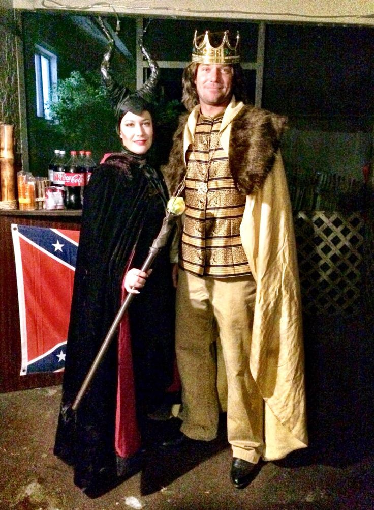 Maleficent and King Stefan 2014 | HALLOWEEN COSTUMES MADE ...