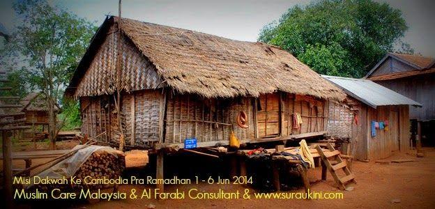 Menyampaikan Sumbangan Pakaian / telekung untuk fakir miskin di kampung pedalaman Cambodia. Menyampaikan sumbangan untuk Guru Agama Menyampaikan Sumbangan orangramai dana wakaf pembinaan Masjid dan Sekolah Islam Al Farabi