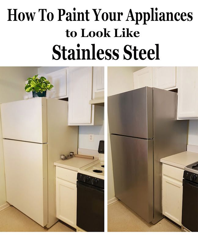 Best 25 stainless steel paint ideas on pinterest for Can you spray paint stainless steel