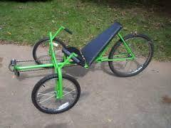 Image result for easy recumbent bike plan