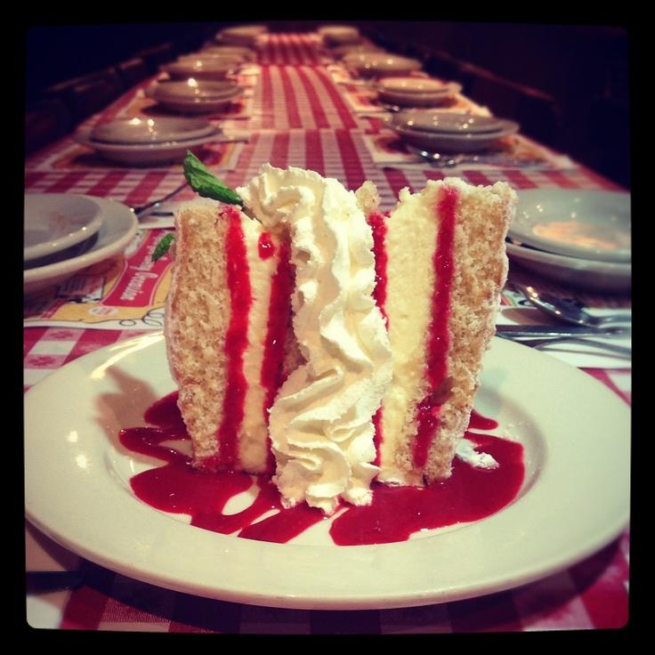Buca di Beppo - Italian creme #cake #dessert | Sweet Tooth ...