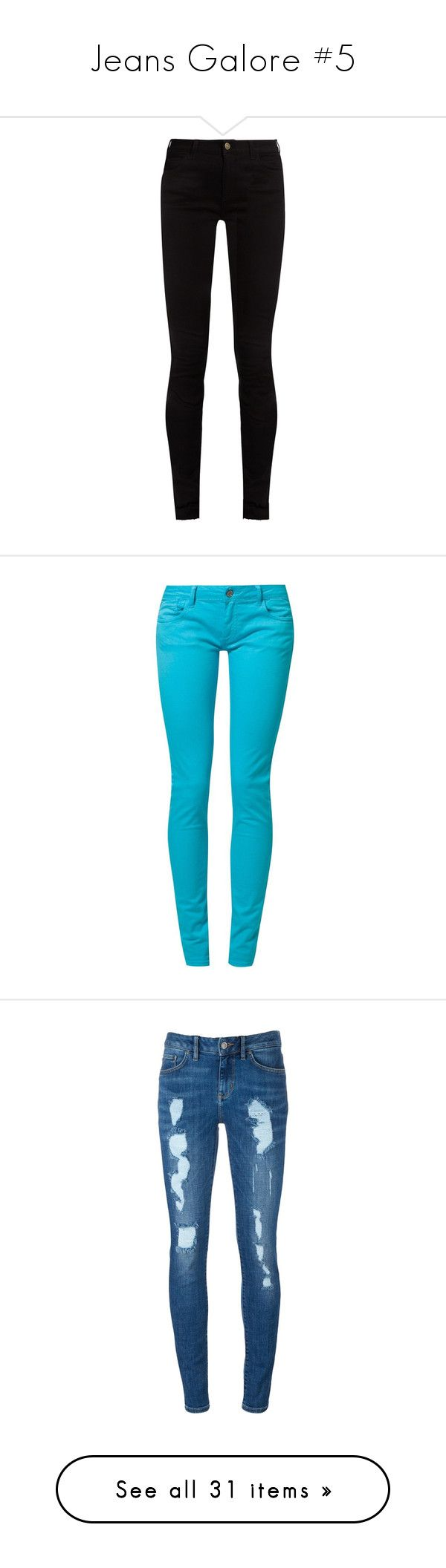 """""""Jeans Galore #5"""" by wolfie-girl1999 ❤ liked on Polyvore featuring jeans, pants, bottoms, calça, black, cuffed skinny jeans, super skinny jeans, denim skinny jeans, stretch skinny jeans and stretch jeans"""