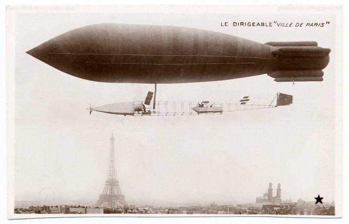 La Ville de Paris foi a segunda aeronave deste nome encomendado pela Deutsch de la Meurthe: o primeiro, construído em 1902-3 e construído por Maurice Mallet e desenhado por Victor Tatin [1] . não teve sucesso [2]  A aeronave foi projetada pelo proeminente balão fabricante Édouard Surcouf e Henri Kapferer . Foi alimentado por um 70 hp 4-cilindro Argus motor de condução de uma única hélice na parte da frente da nacele através de uma mistura 5: 1 de caixa de engrenagens de redução...Wikipédia