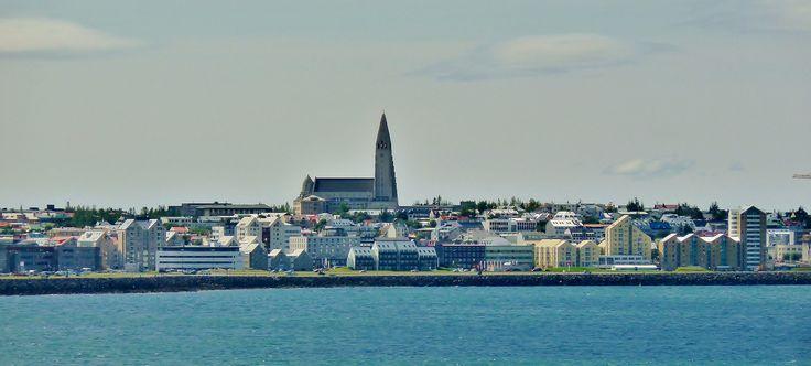 Sailing away from Reykjavik,Iceland