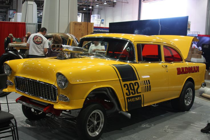Badman '55 Chevy Gasser Hot cars, Classic hot rod