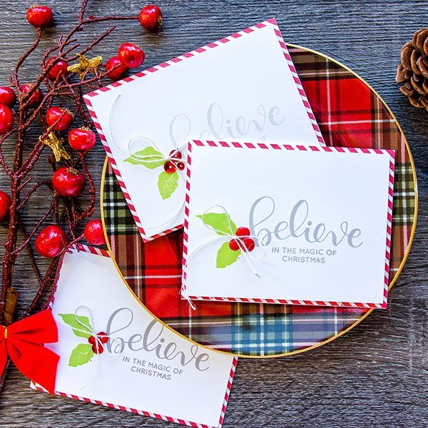 Simple Stamped Christmas Cards by Yana Smakula on the Simon Says Stamp blog