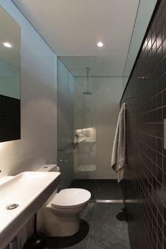 Small bathroom Salgo Kitching House - contemporary - Bathroom - Sydney - Sam Crawford Architects