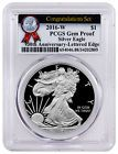 ☺♠ 2016-W American Proof Silver Eagle Congratulations PCGS GEM Proof 30th... http://ebay.to/2yH3nEY