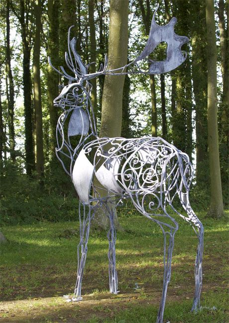 Sculpture and garden art , artistic metal furniture and gates - Home