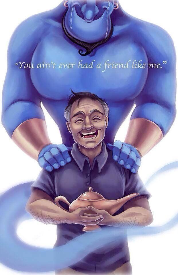 RIP Robin McLaurin Williams   21st of July 1951 - 11th of August 2014 ... *sobs silently*