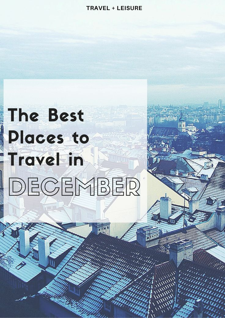 Embrace the magic this holiday season in destinations both warm and cold.