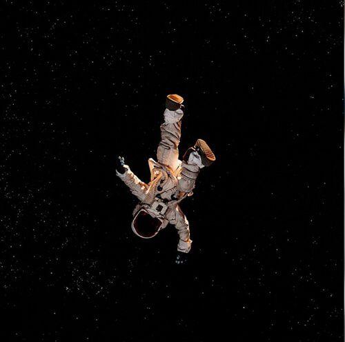 astronaut : me sky : life