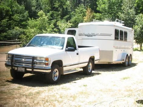 Used Chevrolet 2500 Pickup + Trailer '96 For Sale in CA — $14000