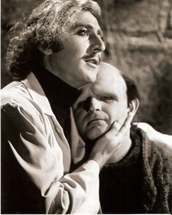 """Dr. Frederick Frankenstein (Gene Wilder): """"For the experiment to be a success, all of the body parts must be enlarged."""" // Inga (Teri Garr): """"He vould have an enormous schwanzstucker."""" // Dr. Frederick Frankenstein: """"That goes without saying."""" -- from Young Frankenstein (1974) directed by Mel Brooks"""