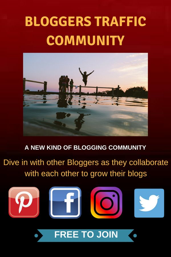 If you a blogger or a website owner you should come and join us. We help each other by leveraging social media platform…