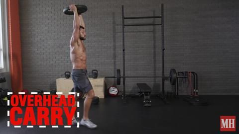 Men's Health fitness director BJ Gaddour shares his 32 favorite weight plate exercises!