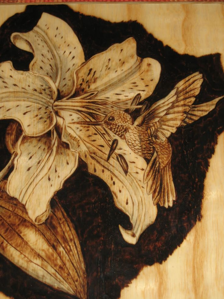 Decorative Wooden Boxes with pyrography   Pyrography (wood burning)