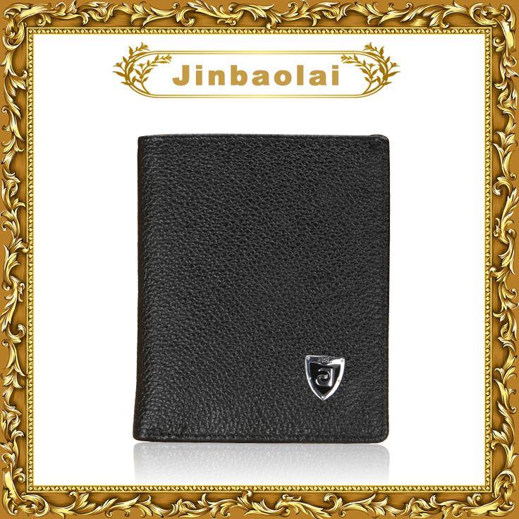 JINBAOLAI Hot! ультра-тонкий Мини небольшой мужской бумажник твердые короткие натуральная кожа кошелек для мужчин мягкая кожа мужчины кошельки carteira